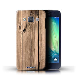 STUFF4 Phone Case/Cover for Samsung Galaxy A3/A300/Plank Design/Wood Grain Effect/Pattern Collection Mobile phones