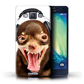 STUFF4 Phone Case/Cover for Samsung Galaxy A5/A500/Ridiculous Dog Design/Funny Animals Collection Mobile phones