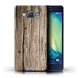 STUFF4 Phone Case/Cover for Samsung Galaxy A5/A500/Driftwood Design/Wood Grain Effect/Pattern Mobile phones