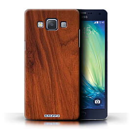 STUFF4 Phone Case/Cover for Samsung Galaxy A5/A500/Mahogany Design/Wood Grain Effect/Pattern Mobile phones