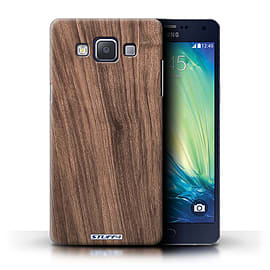 STUFF4 Phone Case/Cover for Samsung Galaxy A5/A500/Walnut Design/Wood Grain Effect/Pattern Mobile phones