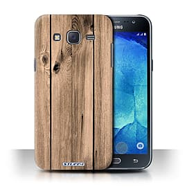 STUFF4 Phone Case/Cover for Samsung Galaxy J5/J500/Plank Design/Wood Grain Effect/Pattern Collection Mobile phones