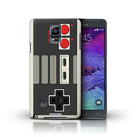 STUFF4 Phone Case/Cover for Samsung Galaxy Note 4/Nintendo Classic Design/Games Console Collection Mobile phones