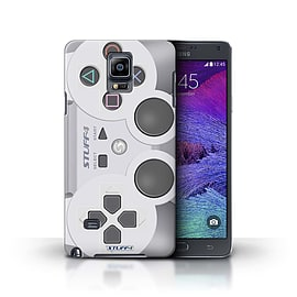 STUFF4 Phone Case/Cover for Samsung Galaxy Note 4/Playstation PS1 Design/Games Console Collection Mobile phones