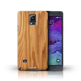 STUFF4 Phone Case/Cover for Samsung Galaxy Note 4/Oak Design/Wood Grain Effect/Pattern Collection Mobile phones