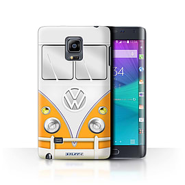 STUFF4 Phone Case/Cover for Samsung Galaxy Note Edge/N915/Orange Design/VW Camper Van Collection Mobile phones