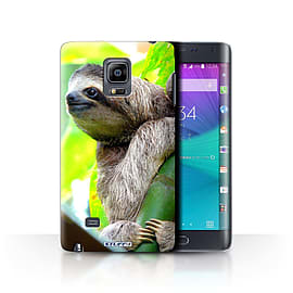 STUFF4 Phone Case/Cover for Samsung Galaxy Note Edge/N915/Sloth Design/Wildlife Animals Collection Mobile phones