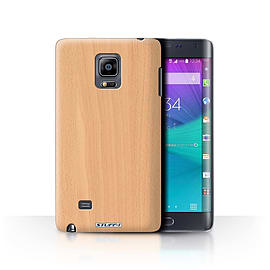 STUFF4 Phone Case/Cover for Samsung Galaxy Note Edge/N915/Beech Design/Wood Grain Effect/Pattern Mobile phones