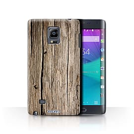 STUFF4 Phone Case/Cover for Samsung Galaxy Note Edge/N915/Driftwood Design/Wood Grain Effect/Pattern Mobile phones