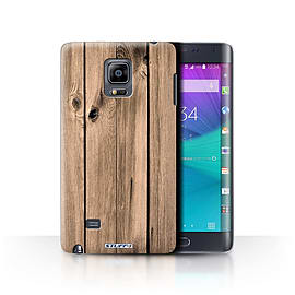 STUFF4 Phone Case/Cover for Samsung Galaxy Note Edge/N915/Plank Design/Wood Grain Effect/Pattern Mobile phones