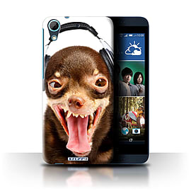 STUFF4 Phone Case/Cover for HTC Desire 626G+/Ridiculous Dog Design/Funny Animals Collection Mobile phones
