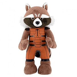 Marvel Guardians Of The Galaxy Rocket Raccoon 10 Inch Bleacher Creature Soft Toys