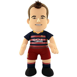FC BARCELONA Andres Iniesta 10 Bleacher Creature Soft Toys