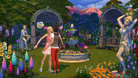 The Sims 4 Romantic Garden Stuff Pack screen shot 1