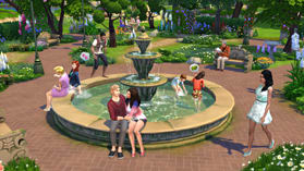 The Sims 4 Romantic Garden Stuff Pack screen shot 2