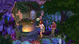 The Sims 4 Romantic Garden Stuff Pack screen shot 3