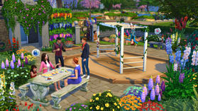 The Sims 4 Romantic Garden Stuff Pack screen shot 4