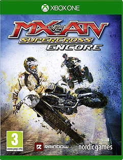 MX vs. ATV: Supercross Encore Xbox One Cover Art