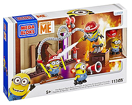 Mega Bloks Fire Rescue Despicable Me Figure Pack Blocks and Bricks
