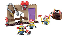Mega Bloks Fire Rescue Despicable Me Figure Pack screen shot 2
