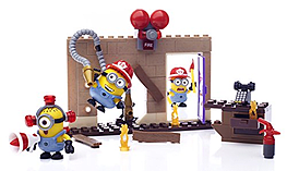 Mega Bloks Fire Rescue Despicable Me Figure Pack screen shot 3