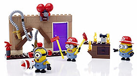 Mega Bloks Fire Rescue Despicable Me Figure Pack screen shot 5