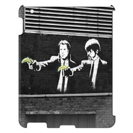 iPad 4 case Pulp Fiction By Banksy Tablet