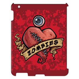 iPad 4 case Zombies By John Schwegel Tablet