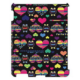 iPad 4 case Hearts By Uberpup Tablet