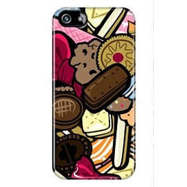 iPhone 5/5s Case Bowtie,braces And Biscuit Pattern By Artista Mobile phones