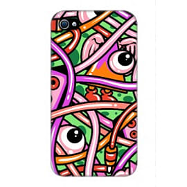 iPhone 4/4S Case Mixed Pattern Wrappz By Artista Mobile phones