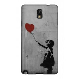 Samsung Galaxy Note 3 Case Girl And The Red Balloon By Banksy Mobile phones