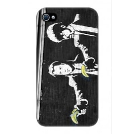 iPhone 4/4S Case Pulp Fiction By Banksy Mobile phones