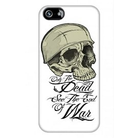 iPhone 5/5s Case Only The Dead See The End Of War By Corey Courts Mobile phones