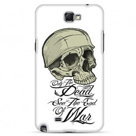 Samsung Galaxy Note 2 Case Only The Dead See The End Of War By Corey Courts Mobile phones