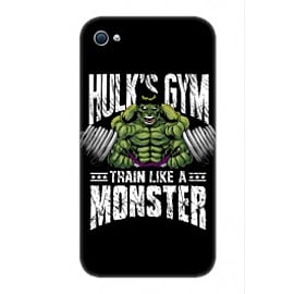 iPhone 4/4S Case Hulk S Gym By Corey Courts Mobile phones
