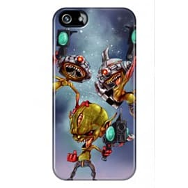 iPhone 5/5s Case Alien Attack By Dan Whisker Mobile phones