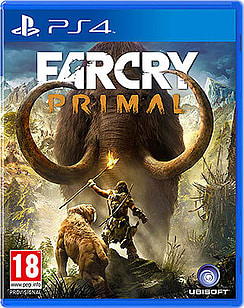Far Cry Primal PlayStation 4 Cover Art
