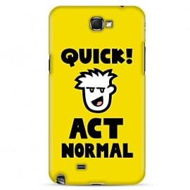 Samsung Galaxy Note 2 Case Normal Wrappz By Genki Gear Mobile phones