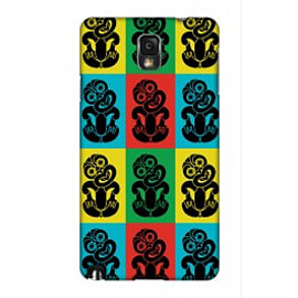 Samsung Galaxy Note 3 Case Pop Art Tiki-12 A3 By Greg Straight Mobile phones