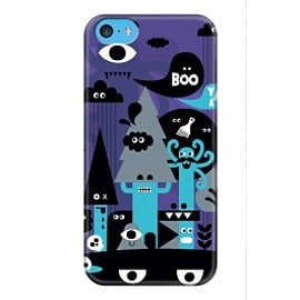 iPhone 5C Case Freaky Forest A3 By Greg Straight Mobile phones