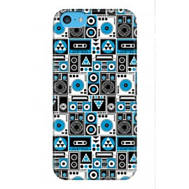iPhone 5C Case Repetitive Beats A3 By Greg Straight Mobile phones