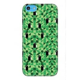 iPhone 5C Case Digital Tui 3 Green-a3 By Greg Straight Mobile phones