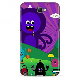 Samsung Galaxy Note 2 Case Magic Mushroom A3 By Greg Straight Mobile phones