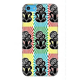 iPhone 5C Case Trippy Tiki A3 By Greg Straight Mobile phones