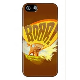 iPhone 5/5s Case Kitten Roar By James Fosdike Mobile phones