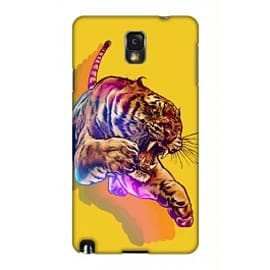 Samsung Galaxy Note 3 Case Rainbow Tiger By James Fosdike Mobile phones