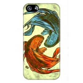 iPhone 5/5s Case Siamese Fight By James Fosdike Mobile phones