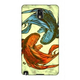 Samsung Galaxy Note 3 Case Siamese Fight By James Fosdike Mobile phones