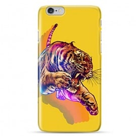 iPhone 6 Case Rainbow Tiger By James Fosdike Mobile phones